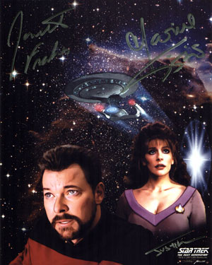 Star Trek: The Next Generation - William Riker and Deanna Troi