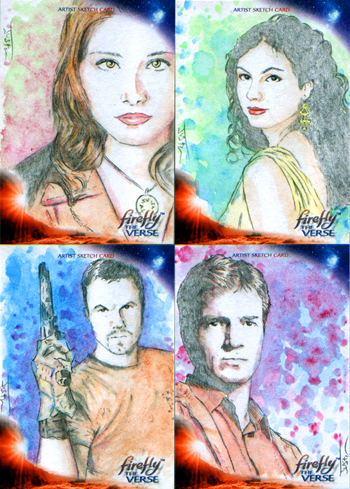 Justin Chung Firefly: The Verse Sketch Cards