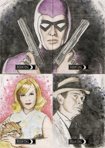 Justin Chung Moonstone Maximum Sketch Cards