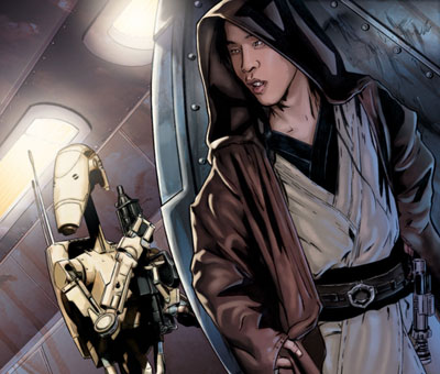 Star Wars Insider #71: Surviving Order 66, Jedi Knight Kai Justiss remains elusive and at large